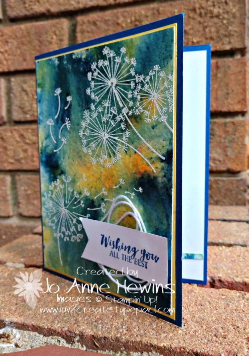 Dandelion Wishes Card by Jo Anne Hewins