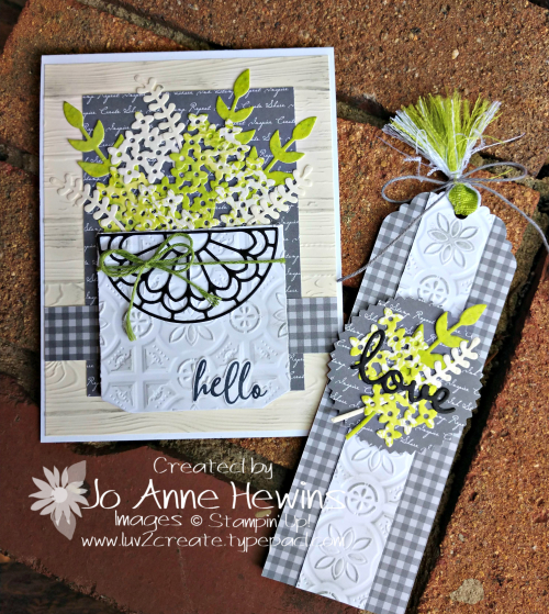 OSAT Down on the Farm Card and Tag by Jo Anne Hewins