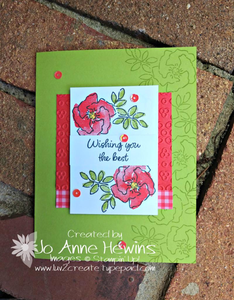 CCMC#570 Inspiring Iris by Jo Anne Hewins