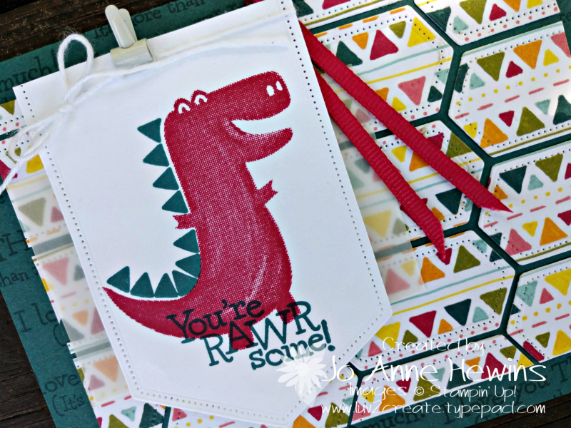 NC Demo Blog Hop July Dino Days Close Up by Jo Anne Hewins