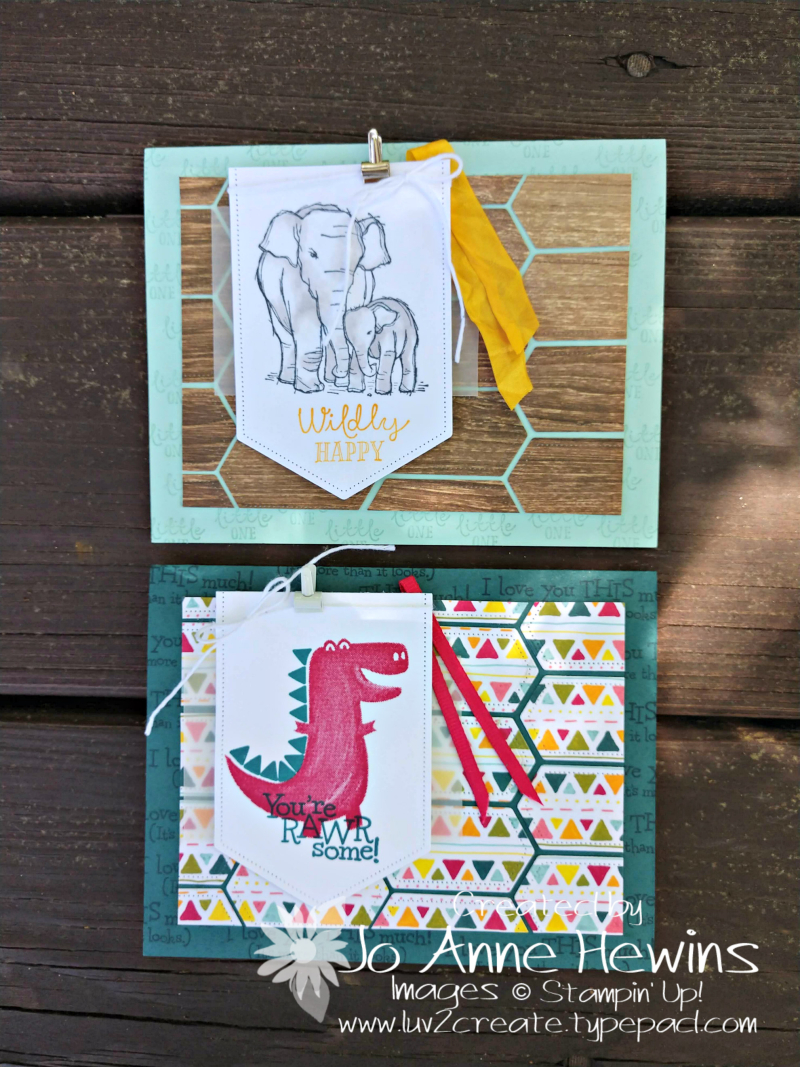 NC Demo Blog Hop for July Wildly Happy and Dino Days by Jo Anne Hewins