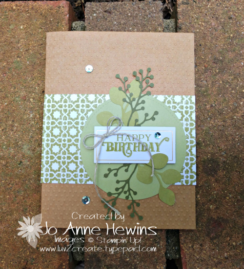 July 2019 Paper Pumpkin Alternative Garden Lane by Jo Anne Hewins