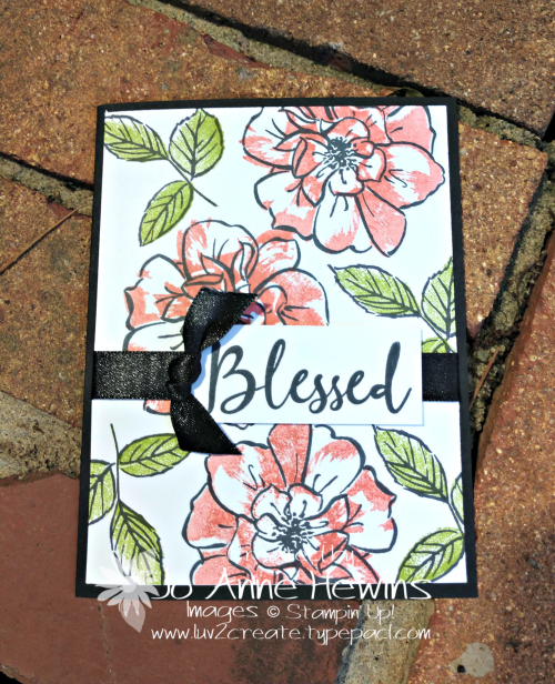 To a Wild Rose Whisk & Barrel by Jo Anne Hewins