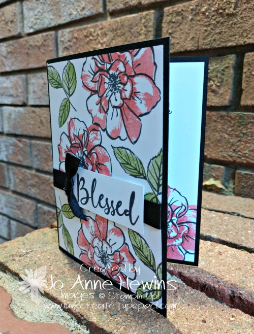To a Wild Rose Whisk & Barrel Card by Jo Anne Hewins