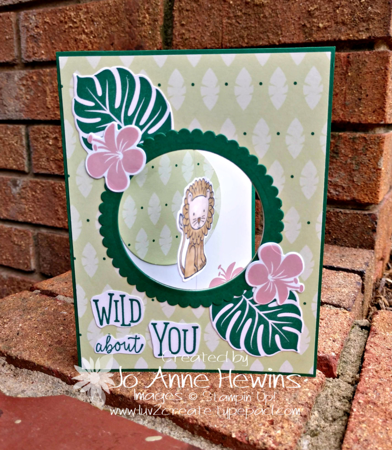 A Little Wild Fishing Line NC Blog Hop for March by Jo Anne Hewins