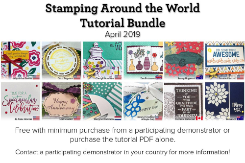 April Stamping Around the World Teaser 4
