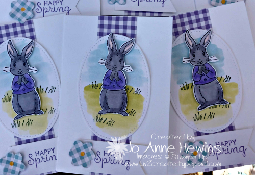 Easter Fable Friends Note Cards by Jo Anne Hewins