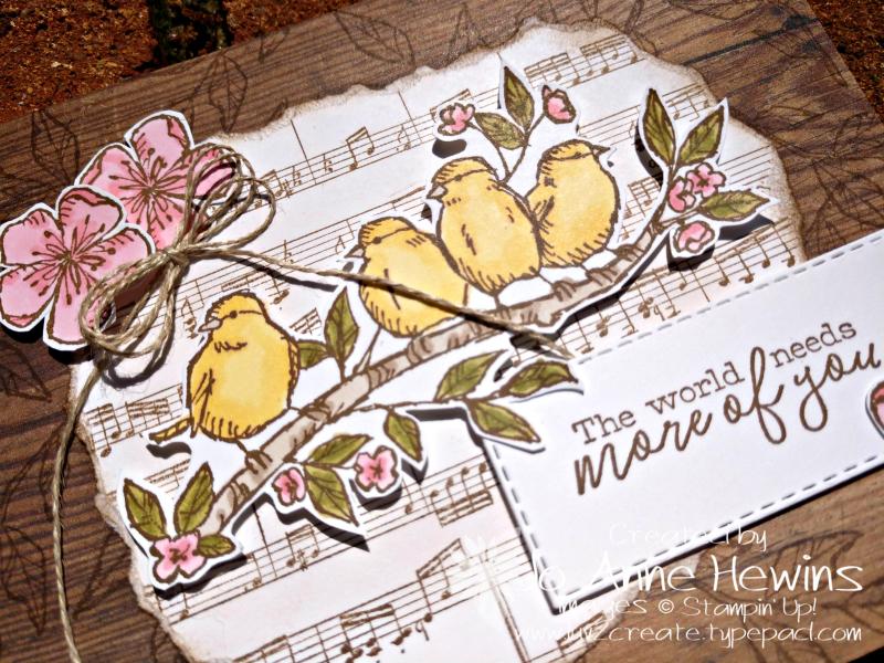Free as a Bird Sneak Peek Close Up by Jo Anne Hewins