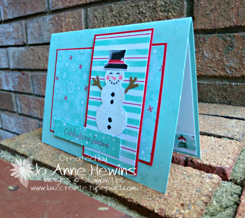CCMC#578 Let It Snow Specialty DSP Project by Jo Anne Hewins