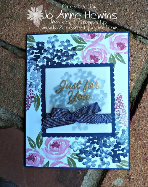Beautiful Friendship September Class by Jo Anne Hewins