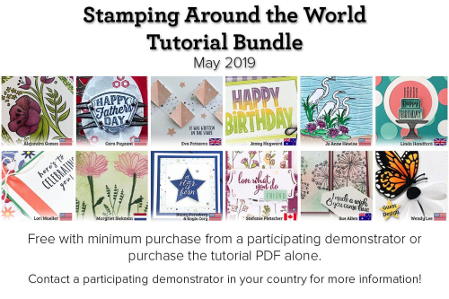 May Stamping Around the World Teaser 5