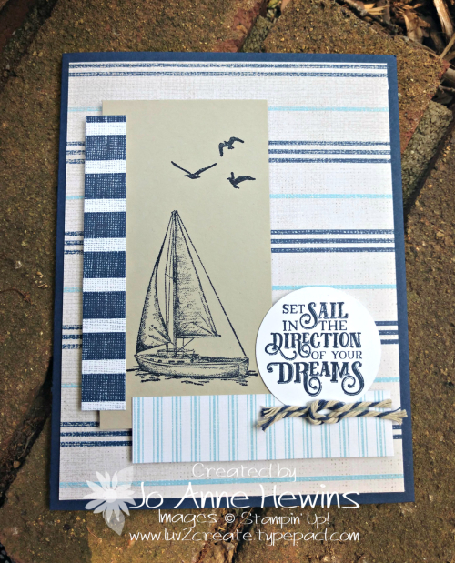 CCMC #562 Come Sail Away by Jo Anne Hewins