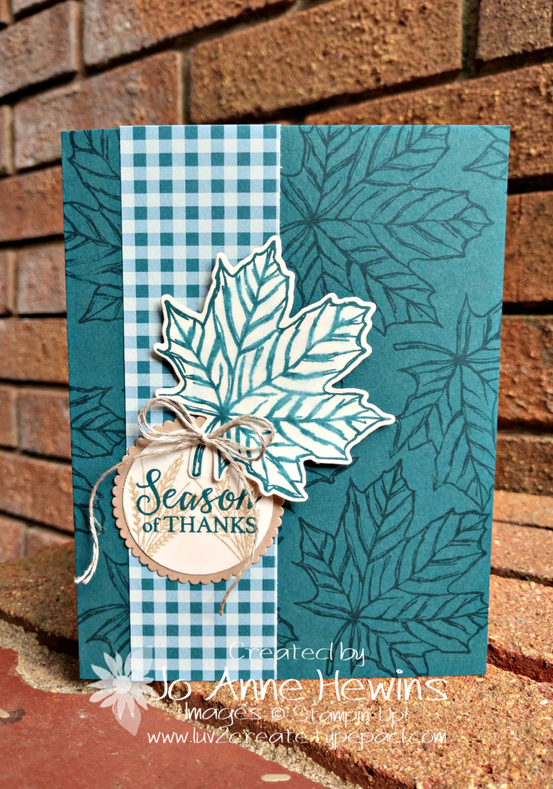 Gataher Together Card by Jo Anne Hewins