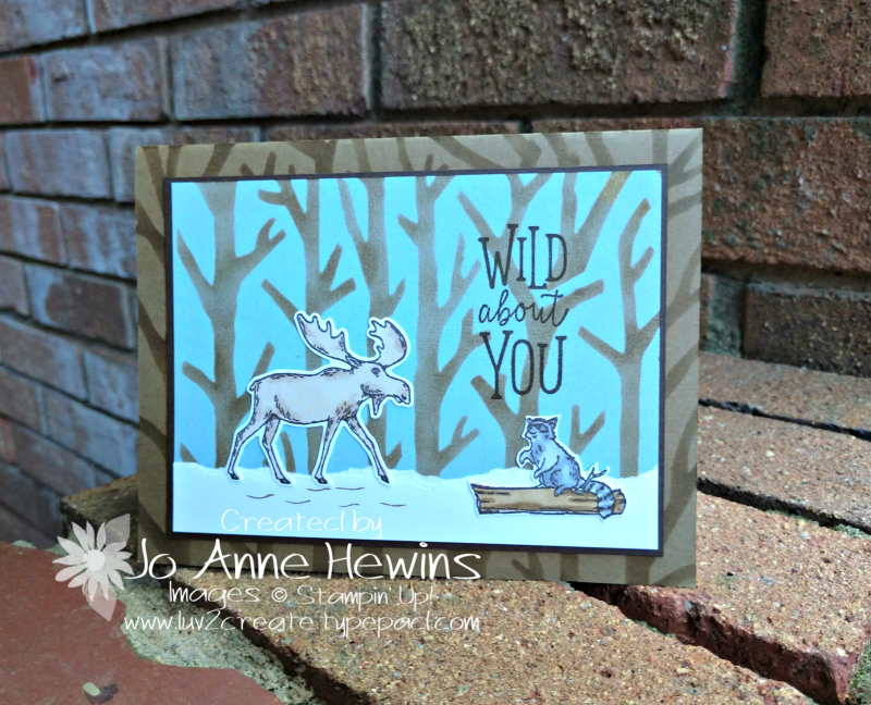 Merry Moose September Project by Jo Anne Hewins