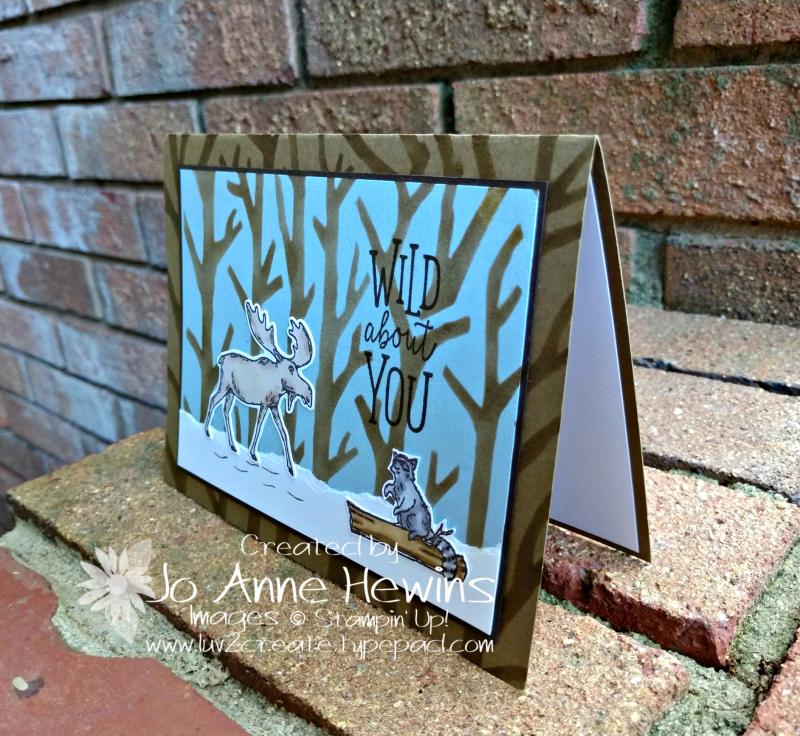 Merry Moose September Card by Jo Anne Hewins
