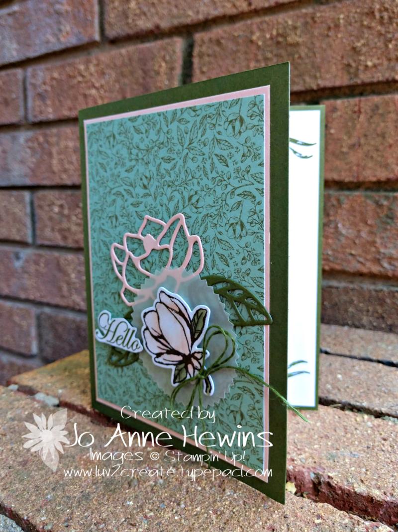 Good Morning  Magnolia Swap by Jo Anne Hewins