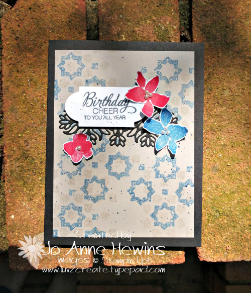 Color Fusers June Parcels & Petals by Jo Anne Hewins