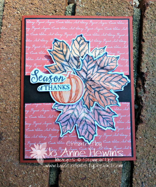 Color Fusers Gather Together for October by Jo Anne Hewins