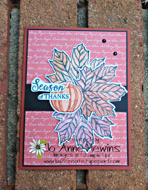 Color Fusers Gather Together for October with embellishments by Jo Anne Hewins