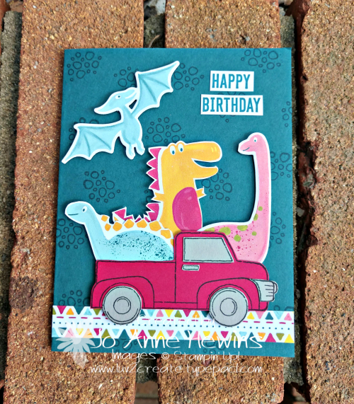 Dino Days and Ride with Me by Jo Anne Hewins