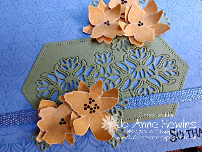 CCMC #584 Parcels & Petals Close Up by Jo Anne Hewins