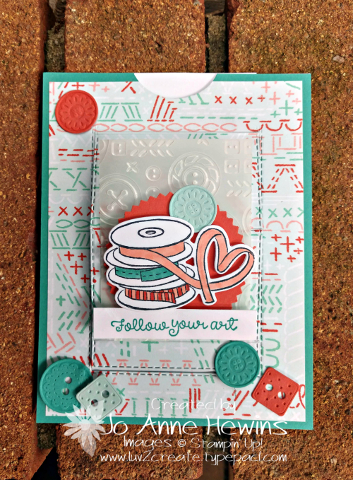 It Starts with Art Pull Card by Jo Anne Hewins