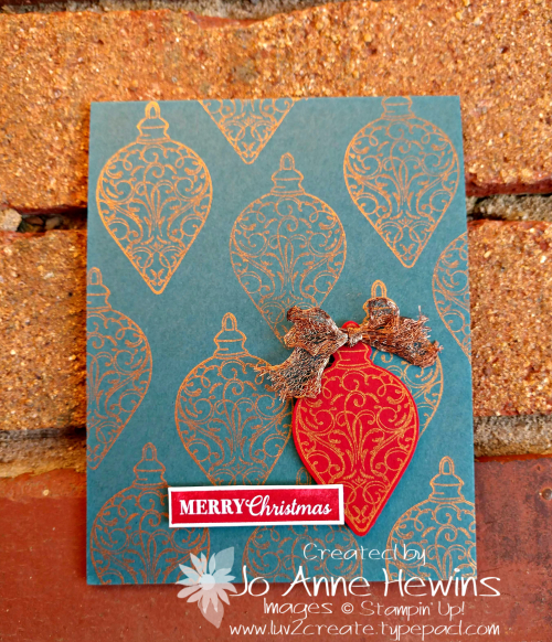 Color Fusers for November Christmas Gleaming by Jo Anne Hewins
