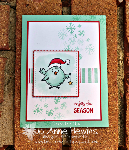 Birds of a Feather for Christmas by Jo Anne Hewins