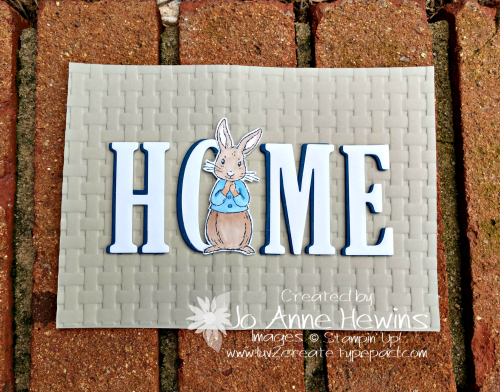 Home Decor outside of frame by Jo Anne Hewins