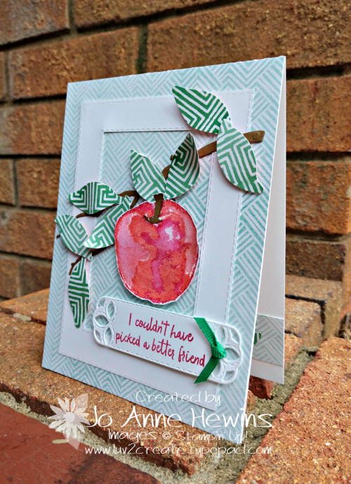 Picked for You Friend Card by Jo Anne Hewins