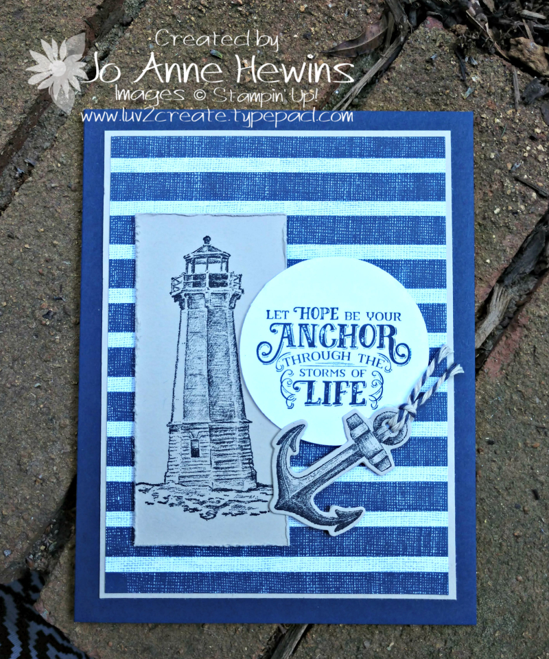 Come Sail Away for the Whisk & Barrel by Jo Anne Hewins