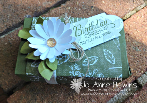 Parcels & Petals box by Jo Anne Hewins