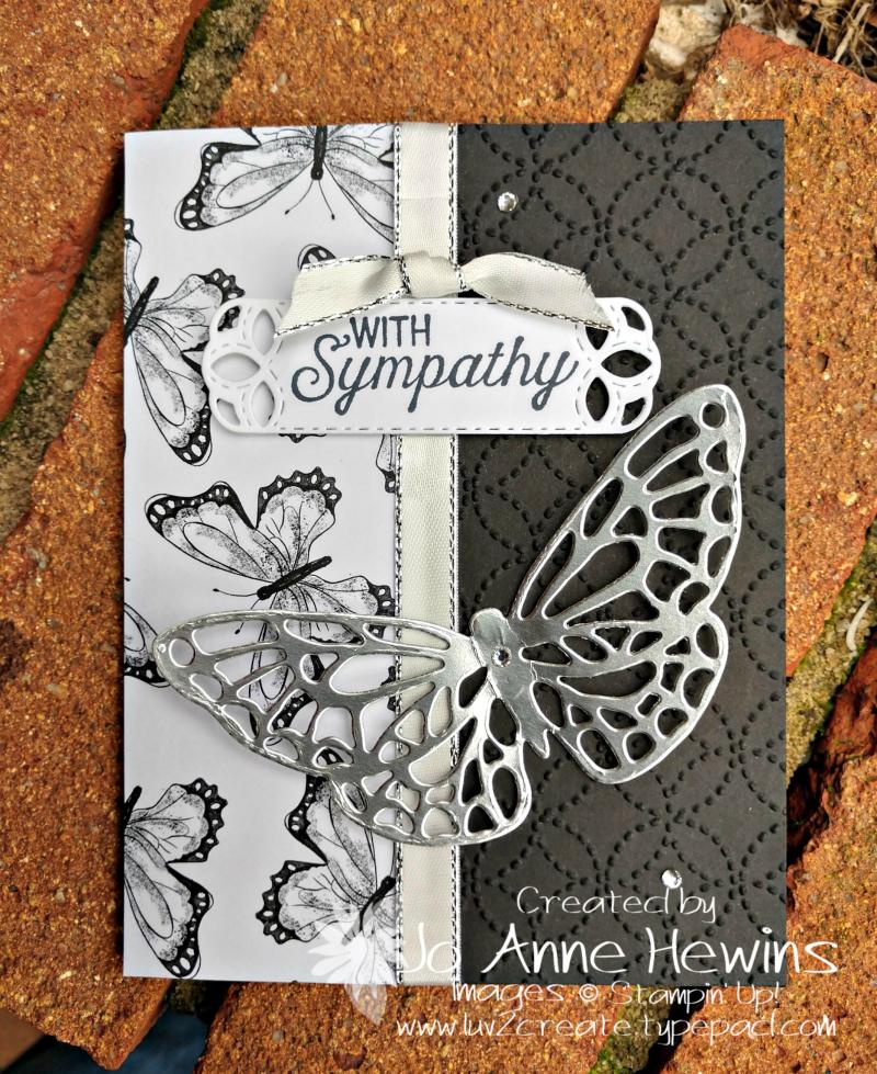 Springtime Impressions Sympathy by Jo Anne Hewins