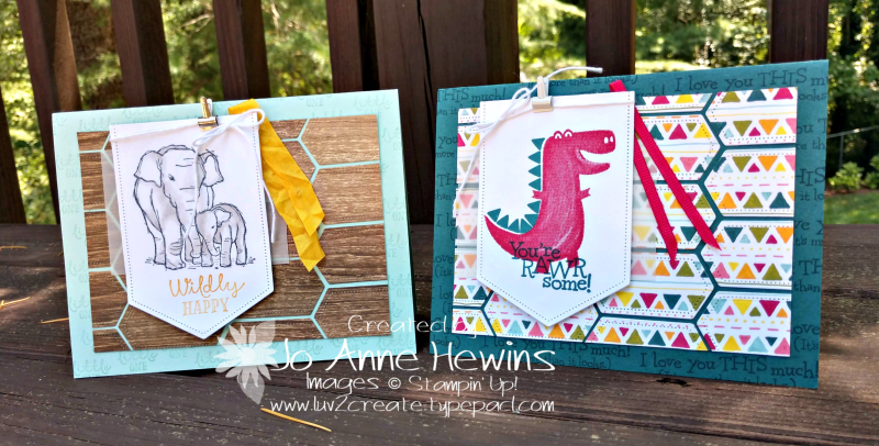 NC Demo Blog Hop for July 2 Cards Together by Jo Anne Hewins