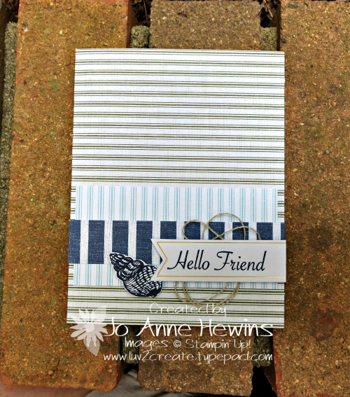 July 2019 Paper Pumpkin Alternative Come Sail Away by Jo Anne Hewins