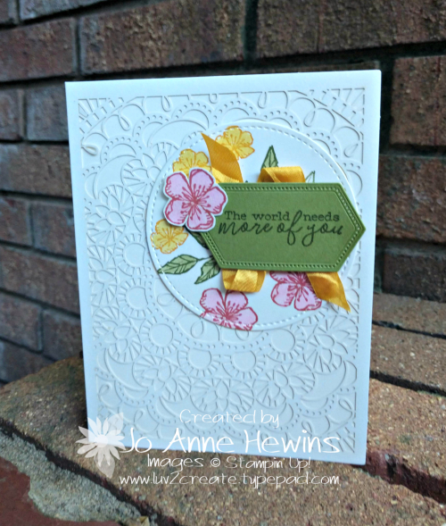 Free as a Bird Catty Case Card by Jo Anne Hewins
