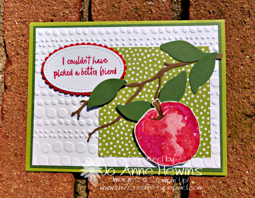 Picked for You Granny Apple Green DSP by Jo Anne Hewins