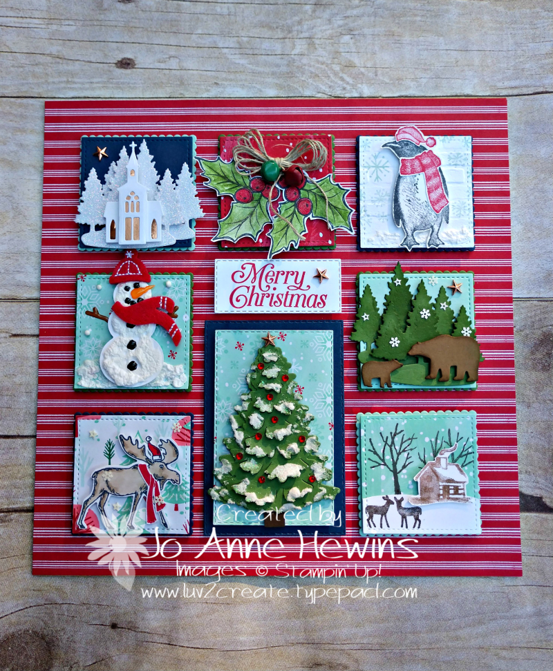 Christmas Sampler 2019 by Jo Anne Hewins
