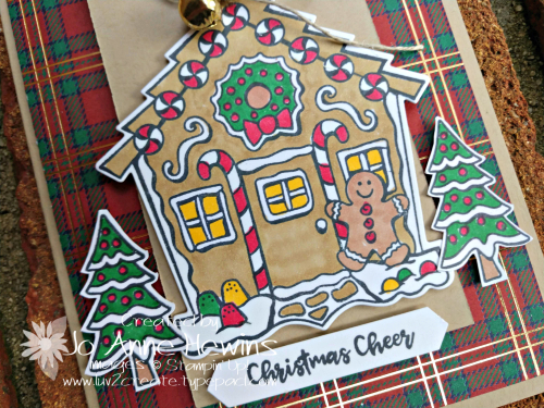 Yummy Christmas Close Up by Jo Anne Hewins