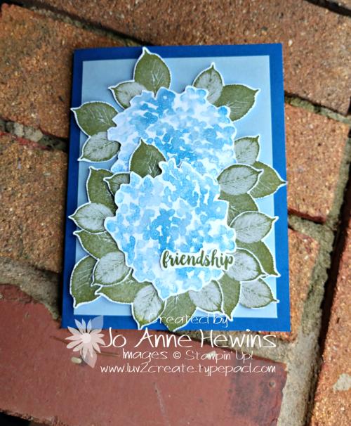 Beautiful Friendship Card by Jo Anne Hewins