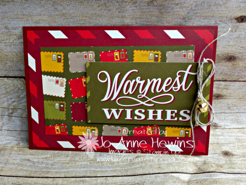 Night Before Christmas Memories & More Card by Jo Anne Hewins