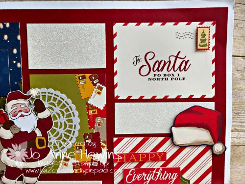 Night Before Christmas sampler Upper Right