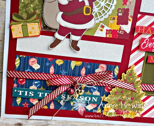 Night Before christmas Sampler Lower Left