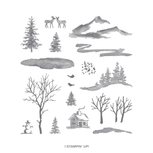 Snow Front Stamp Set