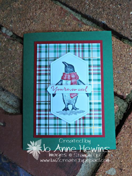 Playful Penguins September Class by Jo Anne Hewins