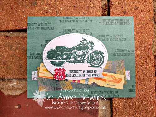 CCMC #560 One Wild Ride Card by Jo Anne Hewins