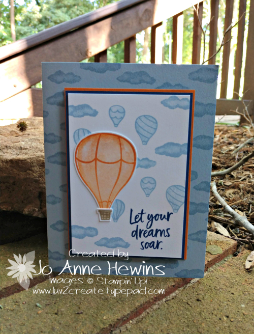 Above the Clouds for Whisk & Barrel Card by Jo Anne Hewins