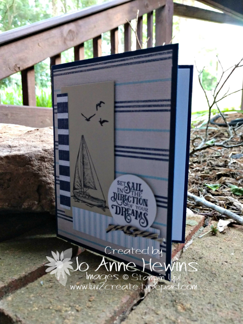 CCMC #562 Come Sail Away Thursday Card by Jo Anne Hewins