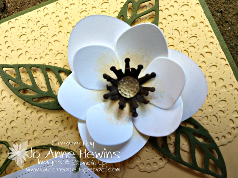 Good Morning  magnolia 3D Magnolia by Jo Anne Hewins