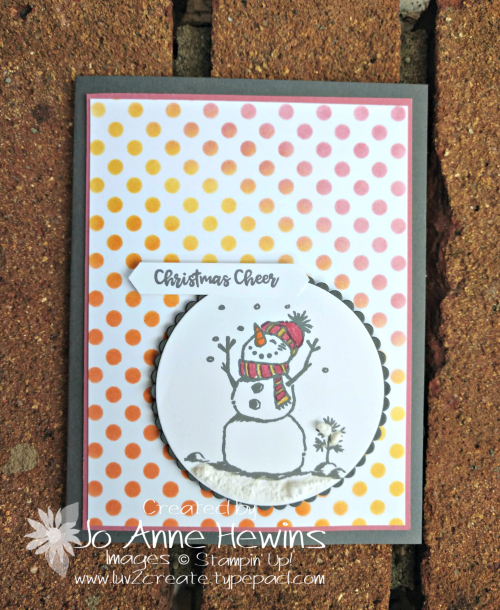 CCMC #579 Snowman Season by Jo Anne Hewins